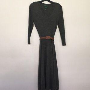 EUC size medium Gray Ralph Lauren  dress